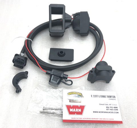 WARN 100962 Rockerbar Service Kit for AXON Winch