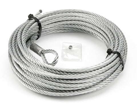 "WARN 100973 Winch Wire Rope for VRX 45, AXON 45, 55, 1/4"" x 50'"