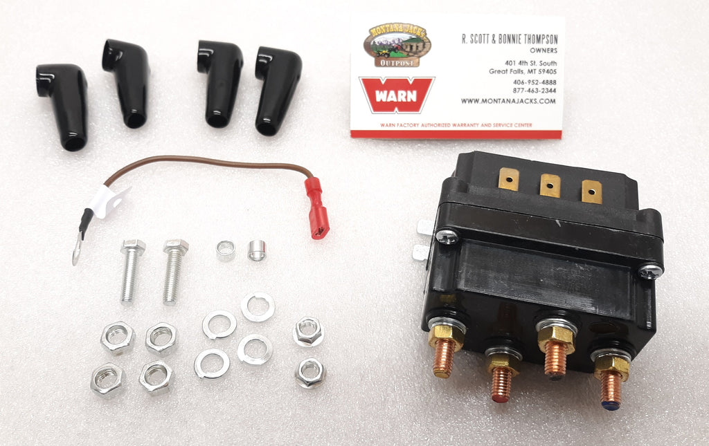 WARN 100995 ATV Winch Contactor for VRX 25, 35, 45