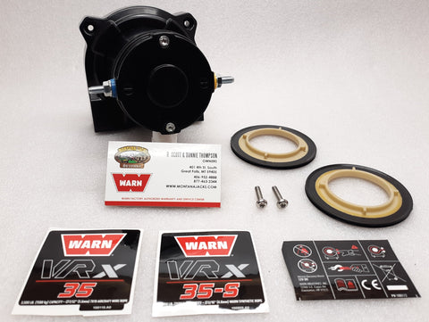 WARN 100988 Gear End Transmission Housing Service Kit VRX Winches Fits