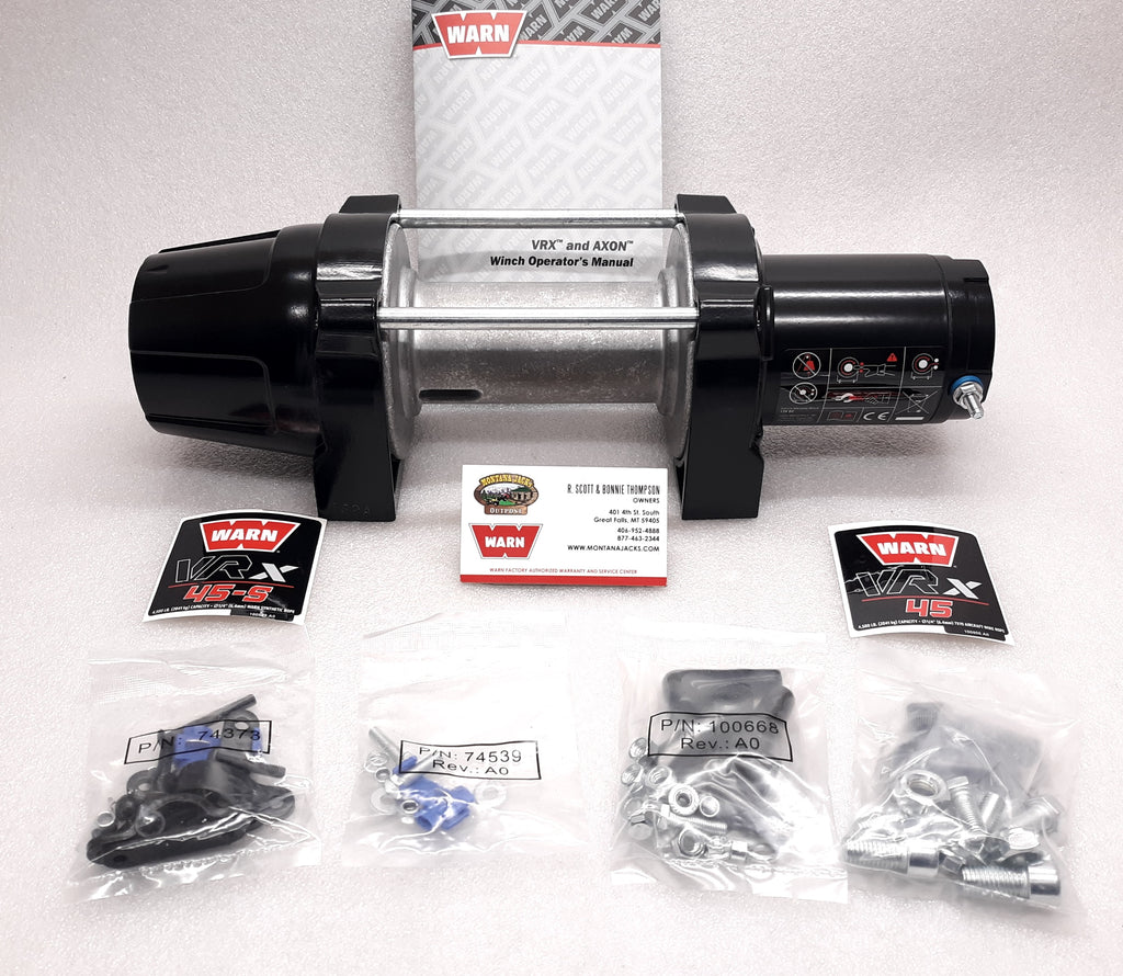 WARN 101044 VRX 45 Replacement Winch (Bare Winch)
