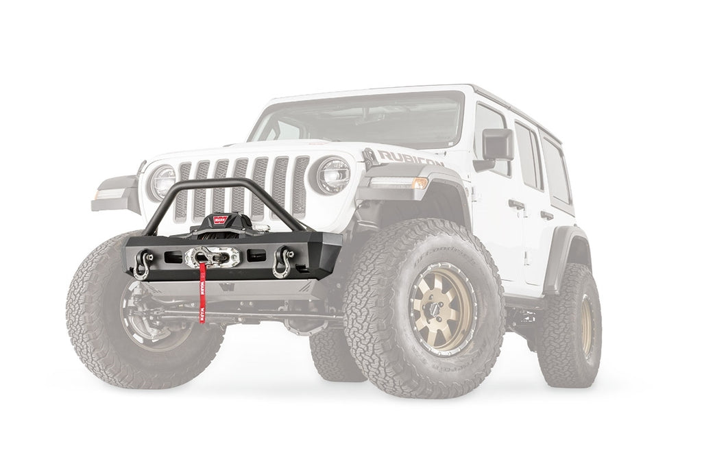 WARN 101330 Elite Series Stubby Bumper for Jeep JL