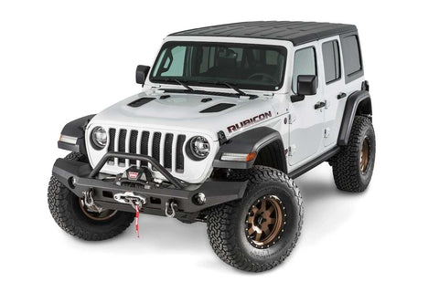 WARN 101337 Elite Full Width Bumper w/Grille Guard for Jeep JL & JT