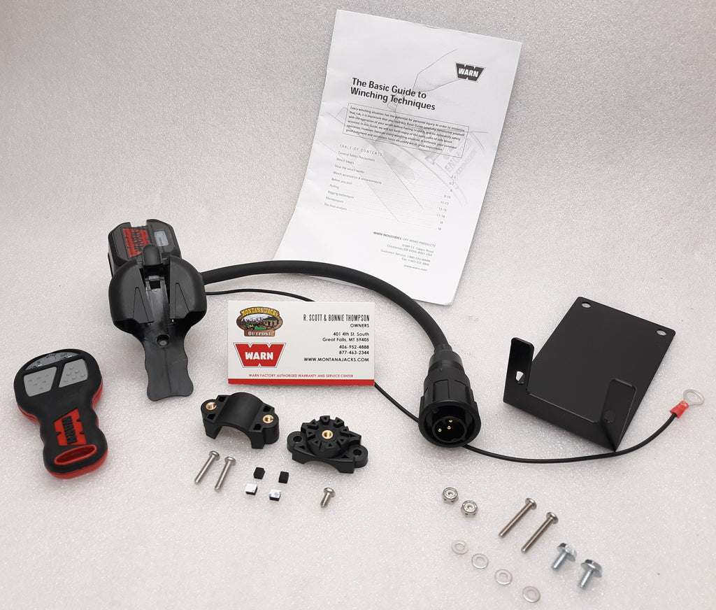 WARN 102230 Industrial Winch Wireless Remote Kit 12v/24v