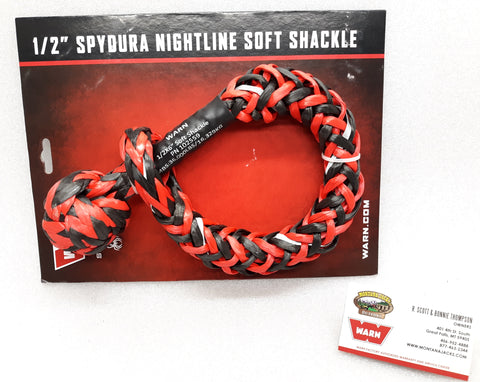 "WARN 102559 Spydura Nightline 1/2"" Soft Shackle"