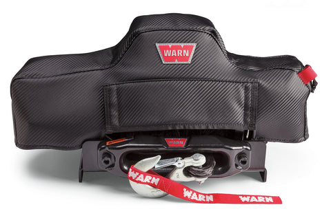 WARN 102642 Stealth Series Winch Cover for VR8, VR10, VR12
