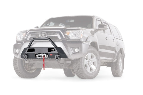 WARN 102874 Semi-Hidden Winch Mount Kit for 2012-15 Toyota Tacoma