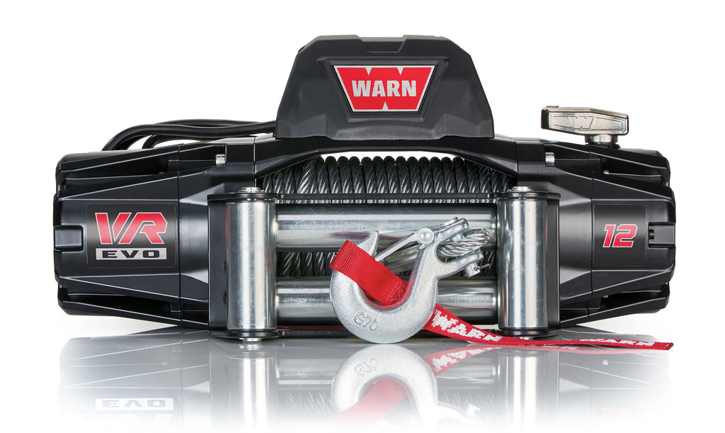 WARN 103254 VR EVO 12 Truck, Jeep, SUV Winch, 12,000 lb, Steel Rope