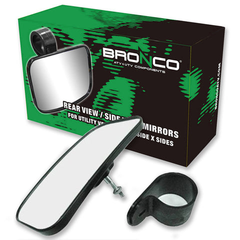 BRONCO AT-12193 Rear/Side View Mirror for UTV