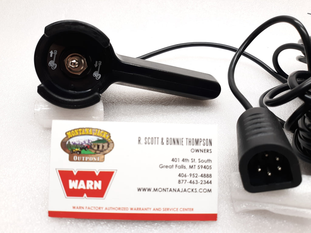 WARN 13447 Winch Remote Control w/39 foot lead for Truck/Jeep/Suv