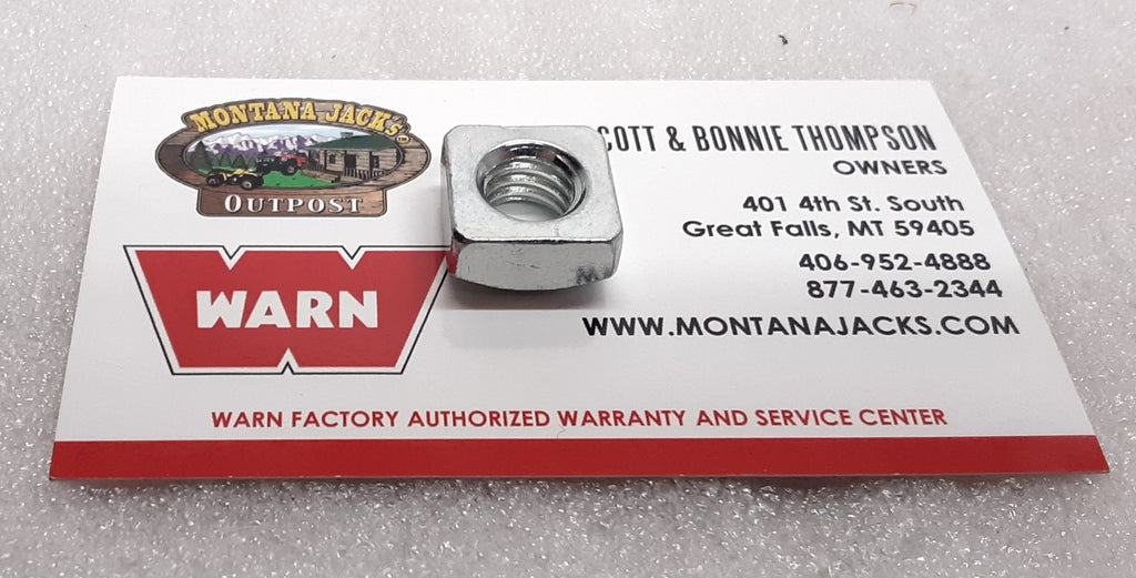 WARN 98276 Square Nut for Numerous WARN Winch models, Pack of 4