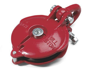 WARN 15640 Industrial Snatch Block 24,000 lb rating, for winches up to 12,000 lb