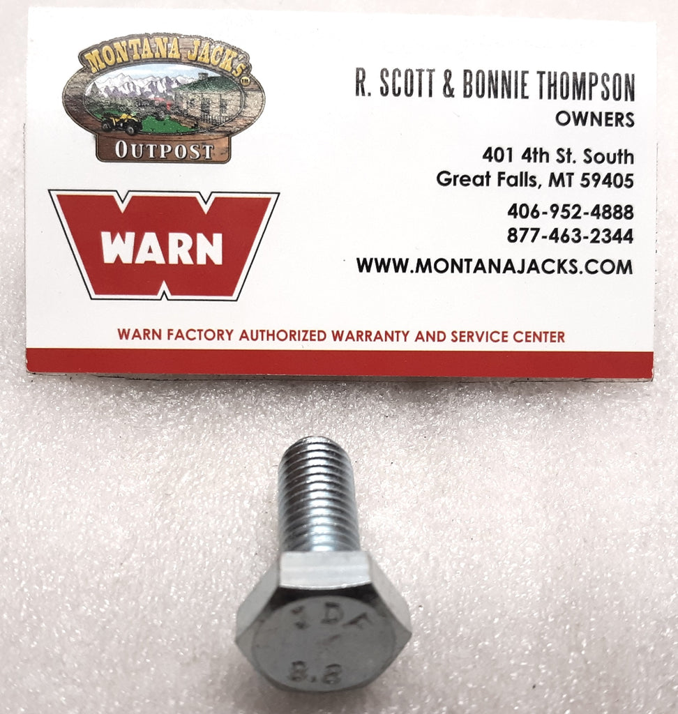 WARN 22527 Hex Head Capscrew, M10 x 1.5 x 25mm