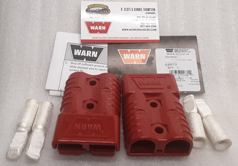 Warn 22681 50 Amp Quick Connect Plugs