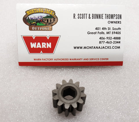 WARN 24832 Sun Gear for M12, M12000, M15, M15000, 16.5ti, Replaces # 32437
