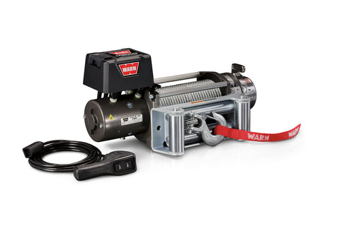 WARN 26502 M8000 12V Truck/SUV Winch, 8000 lbs., Lifetime Warranty!