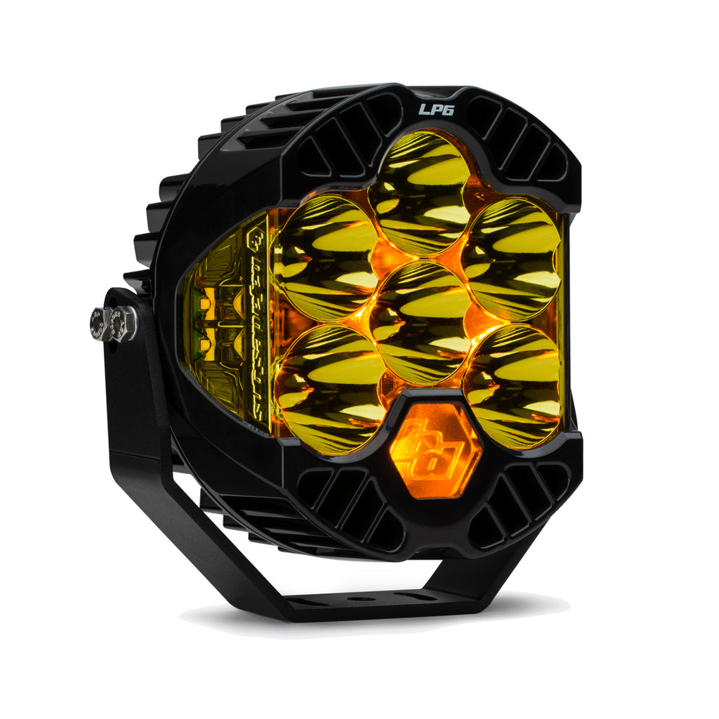 BAJA DESIGNS 270011 LP6 Pro LED, Spot Pattern, Amber