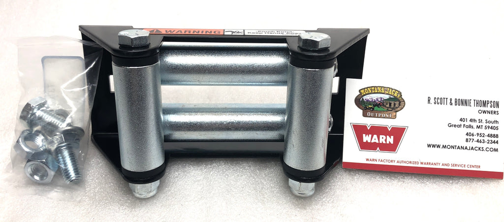 WARN 28929 ATV Winch Roller Fairlead, ProVantage 2500/3500, RT/XT 25 & 30