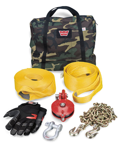 WARN 29460 Heavy Duty Winching Accessory Kit, Choose your glove size!