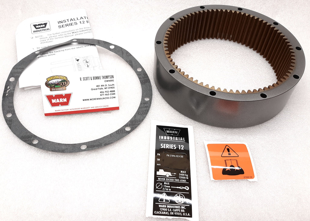 WARN 31679 Winch Ring Gear for Series 12 Industrial, M12000 & M15000