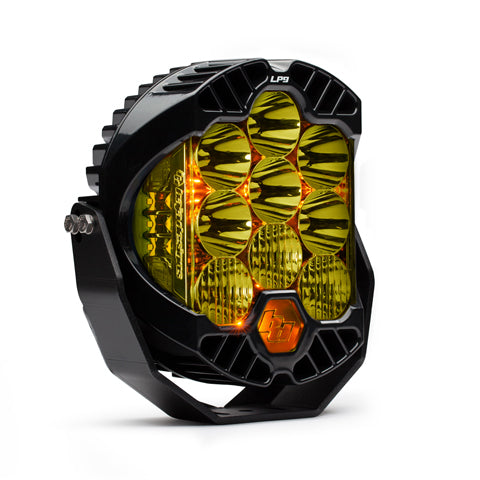BAJA DESIGNS 320013 LED Light Pods Driving Combo Pattern Amber LP9 Series
