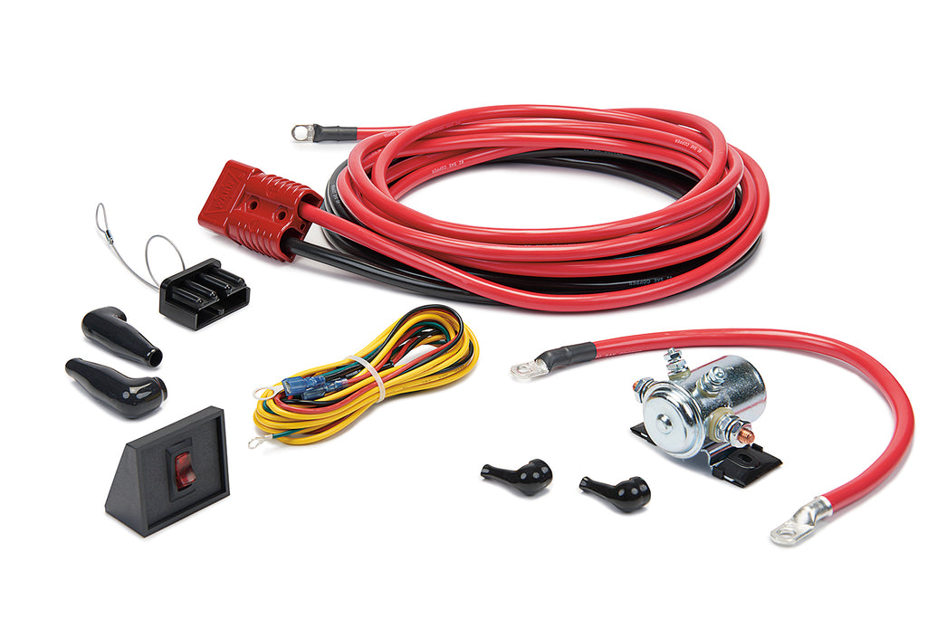 WARN 32966 Quick Connect Power Cable Kit, 24' for Rear of vehicle, w/Interrupt