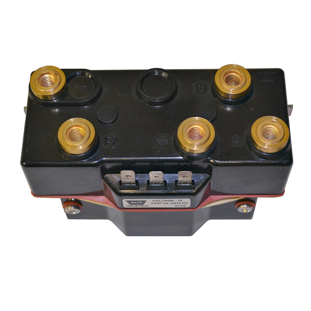 WARN 34969 Hoist Contactor, 12 volt, for DC2000, DC3000, DC4000