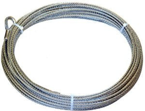 "MONTANA JACKS 5/16"" Wirerope Assembly 80 Foot with terminal kit"