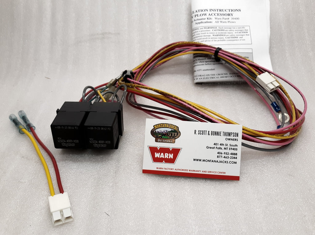 WARN 39400RY Relay Kit for 39400 Plow Actuator