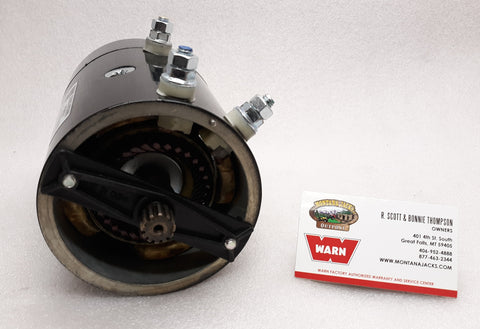 WARN 39436 12V Volt Geared Shaft Winch Motor for HS9500