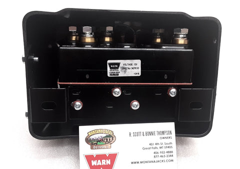 WARN 39602 Hoist Control Pack, 12v, for DC2000MF, 3000LF, 4000LF Series Wound