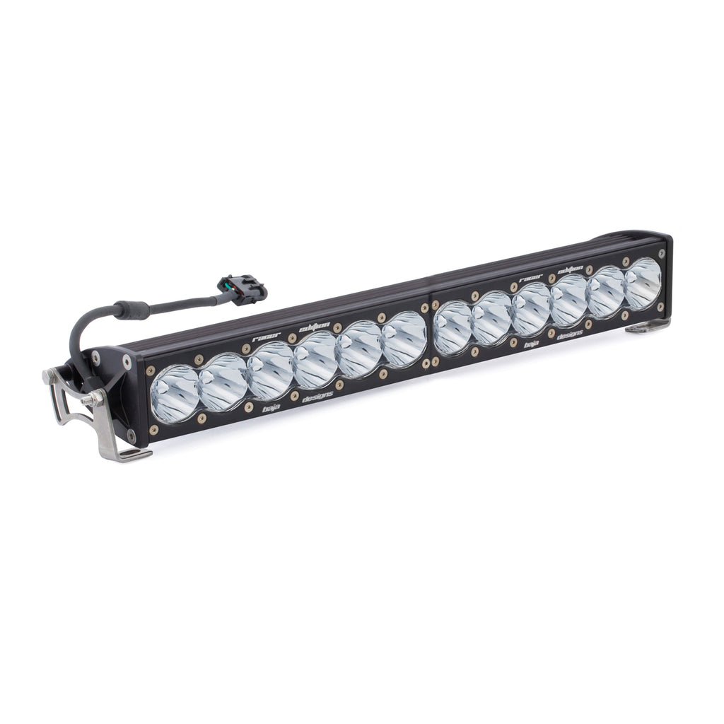 BAJA DESIGNS 412002 20 Inch LED Light Bar Single Straight High Speed Spot Pattern Racer Edition OnX6