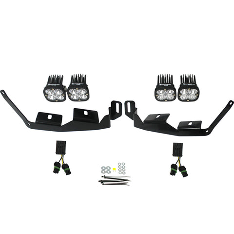 BAJA DESIGNS 447012 Polaris Headlight Kit 2014-Present RZR XP1000/RS1 Sportsmen