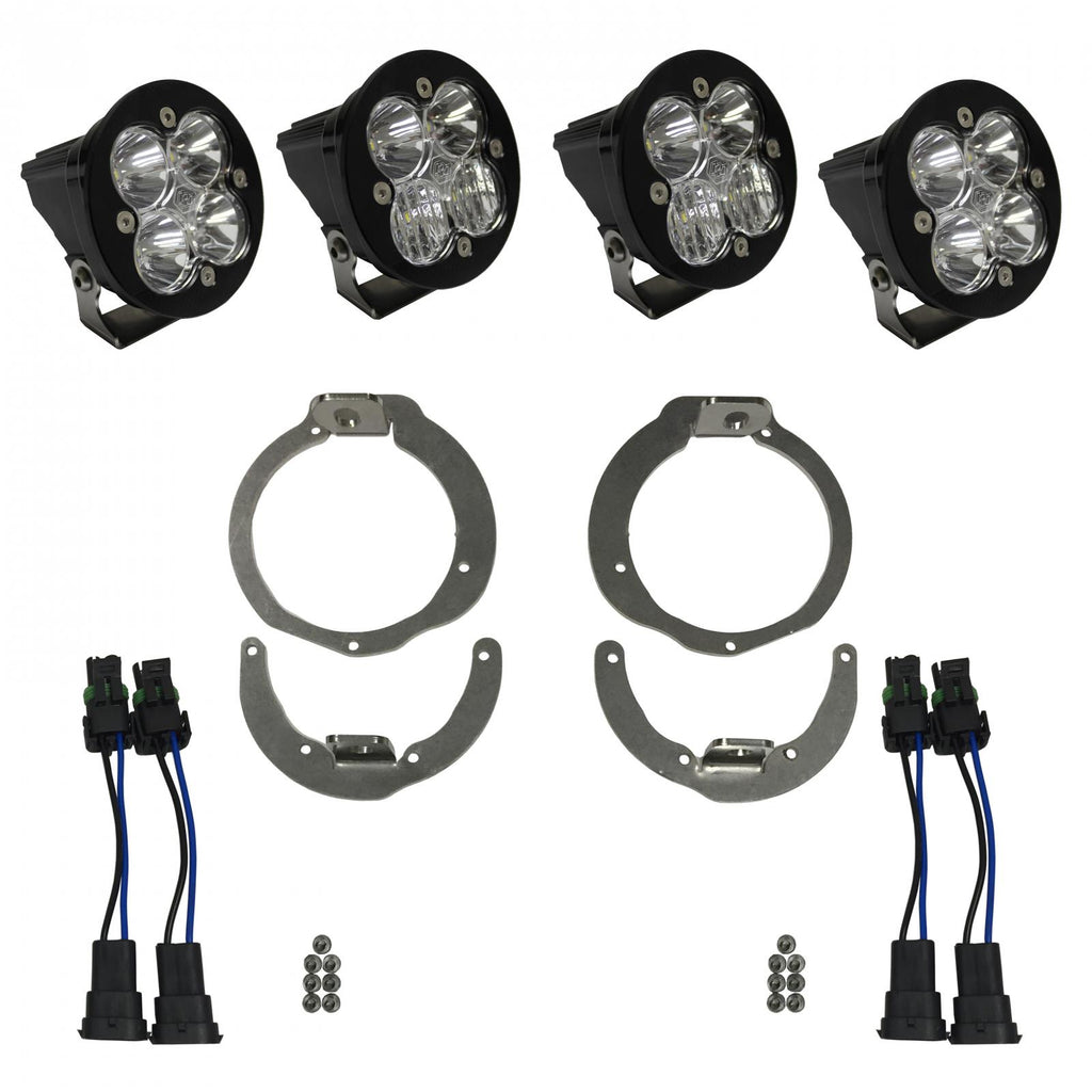 BAJA DESIGNS 447044 Can-Am Headlight Kit 13-16 Maverick/11-16 Renegade Kit Sportsmen