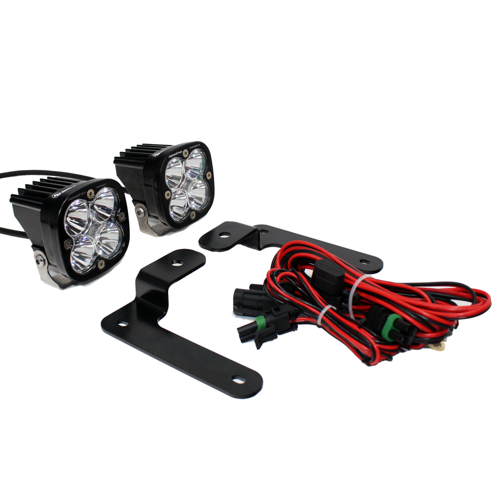 BAJA DESIGNS 447505 Jeep JL A-Pillar Light Kit 2018 Wrangler JL Pro Kit