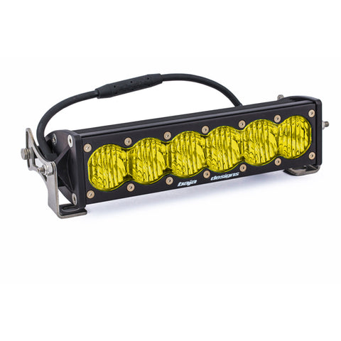 BAJA DESIGNS 451014 10 Inch LED Light Bar Amber Lens Wide Driving OnX6