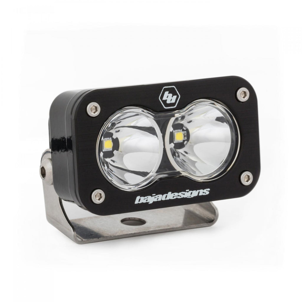 BAJA DESIGNS 480001 LED Work Light Clear Lens Spot Pattern S2 Pro
