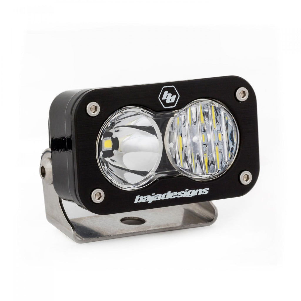BAJA DESIGNS 480003 LED Work Light Clear Lens Driving Combo Pattern S2 Pro