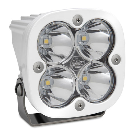 BAJA DESIGNS 490001WT LED Light Pod White Clear Lens Spot Pattern Squadron Pro