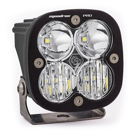 BAJA DESIGNS 490003 LED Light Pod Black Clear Lens Driving/Combo Pattern Squadron Pro