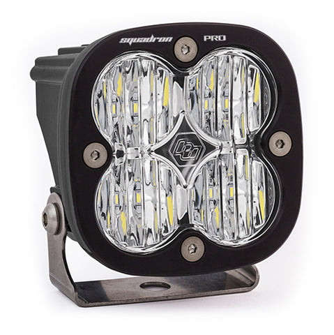 BAJA DESIGNS 490005 LED Light Pod Black Clear Lens Wide Cornering Pattern Squadron Pro