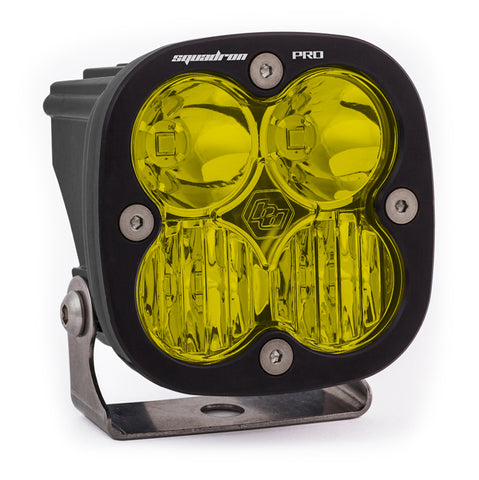 BAJA DESIGNS 490013 LED Light Pod Black Amber Lens Driving/Combo Pattern Squadron Pro