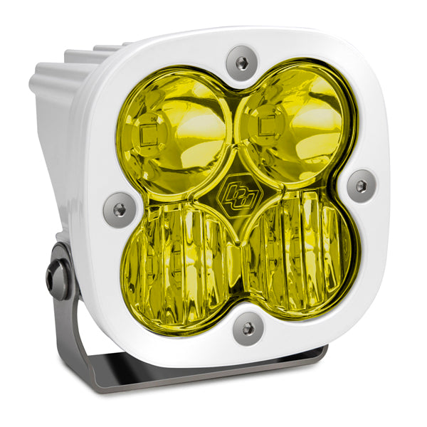 BAJA DESIGNS 490013WT LED Light Pod White Amber Lens Driving/Combo Pattern Squadron Pro
