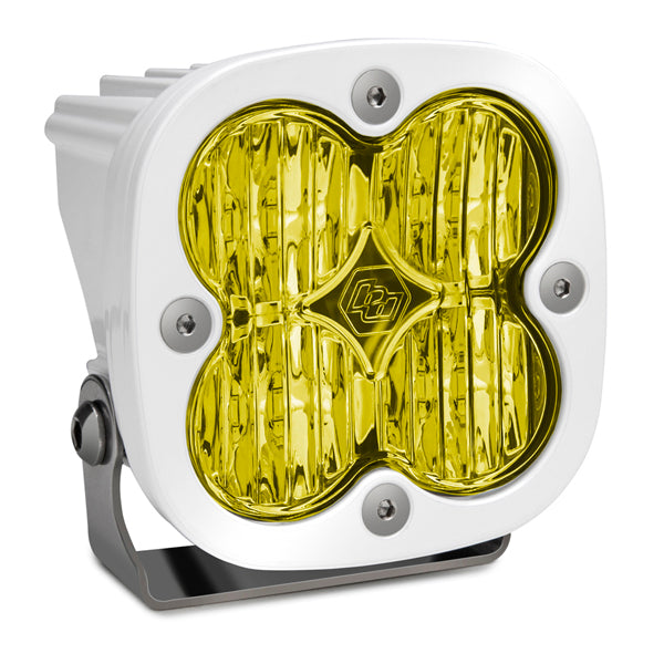 BAJA DESIGNS 490015WT LED Light Pod White Amber Lens Wide Cornering Pattern Squadron Pro