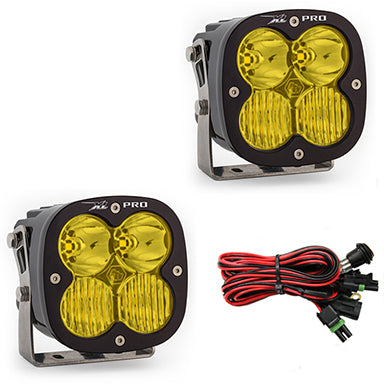 BAJA DESIGNS 507813 LED Light Pods Amber Lens Driving Combo Pattern Pair XL Pro Series