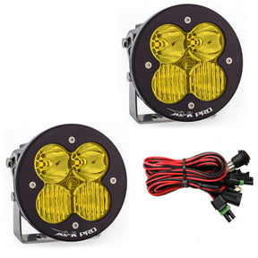 BAJA DESIGNS 537813 LED Light Pods Amber Lens Driving Combo Pattern Pair XL R Pro Series