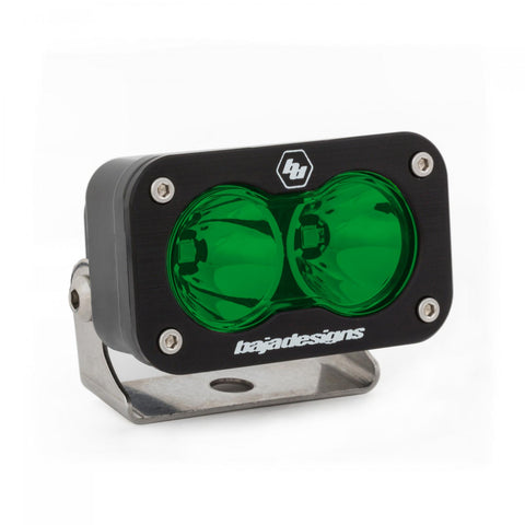 BAJA DESIGNS 540001GR LED Work Light Green Lens Spot Pattern S2 Sport