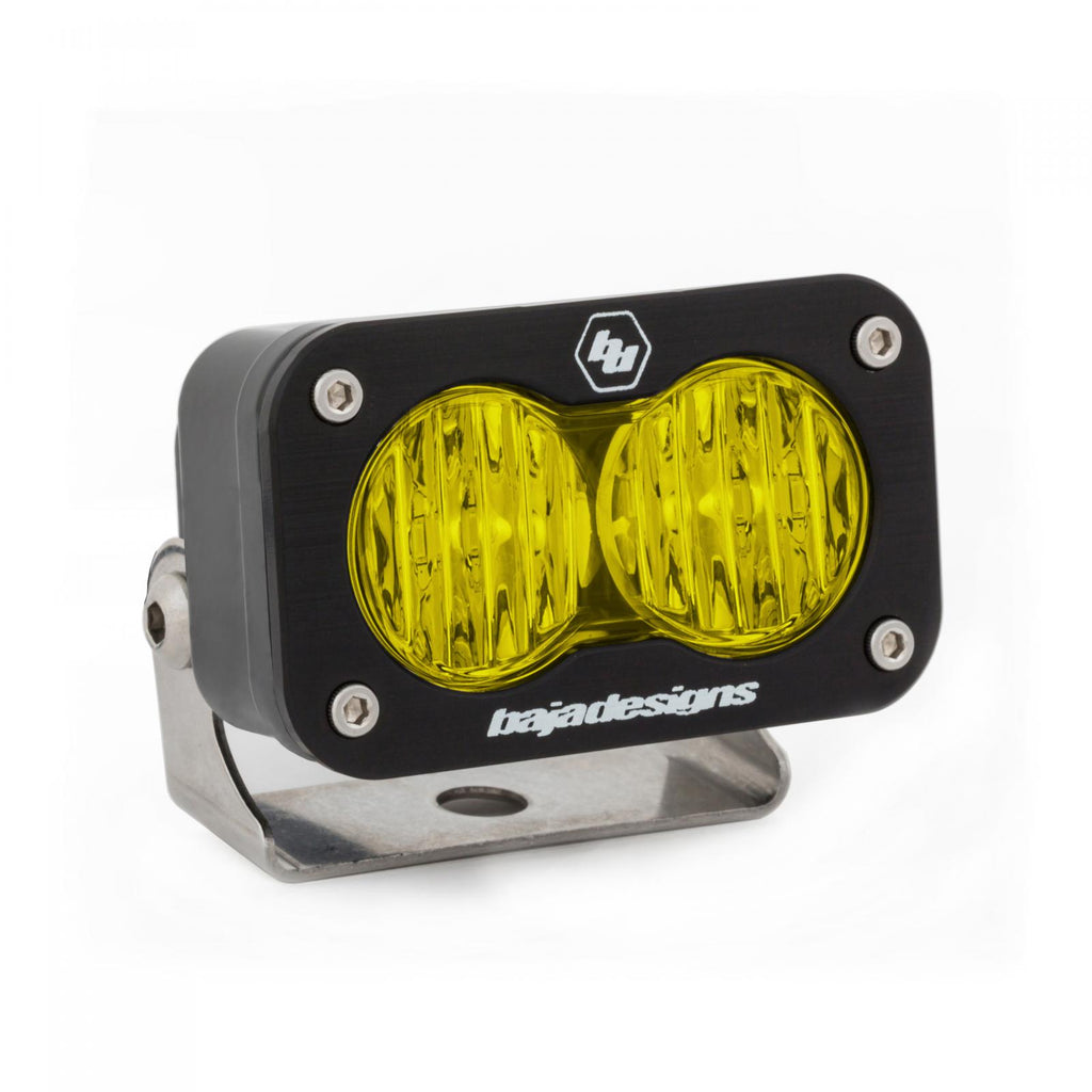BAJA DESIGNS 540015 LED Work Light Amber Lens Wide Cornering Pattern Each S2 Sport