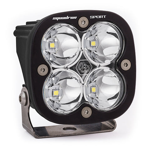 BAJA DESIGNS 550001 LED Light Pod Spot Pattern Clear Black Squadron Sport