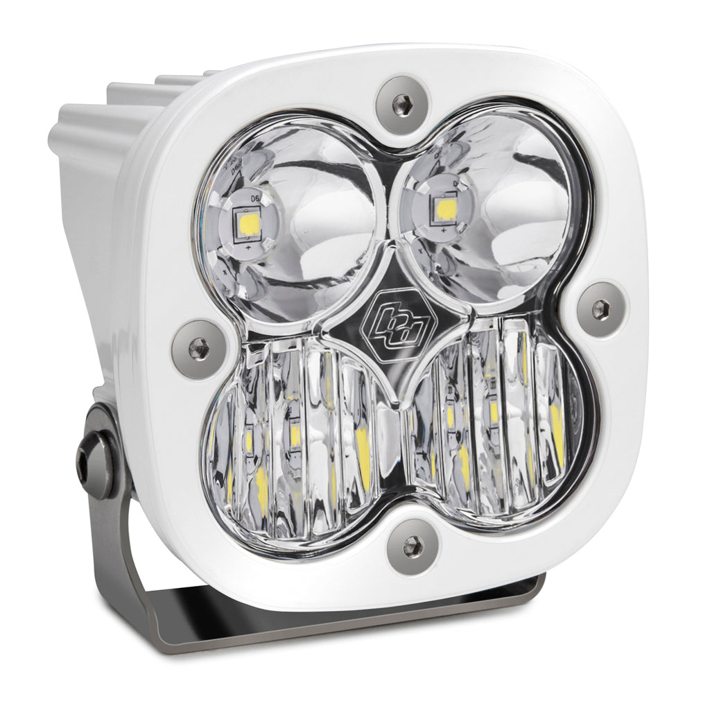 BAJA DESIGNS 550003WT LED Light Pod Driving/Combo Pattern Clear White Squadron Sport